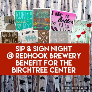 Sip & Sign Fundraiser @ Redhook Brewery