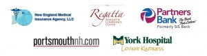 New England Medical Insurance Agency; Partners Bank; PortsmouthNH.com; Regatta Banquet & Conference Center; York Hospital