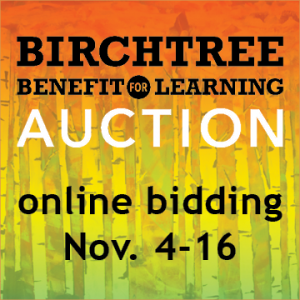 Benefit for Learning Online Auction @ charityauction.bid/ birchtree